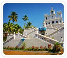Church at Goa